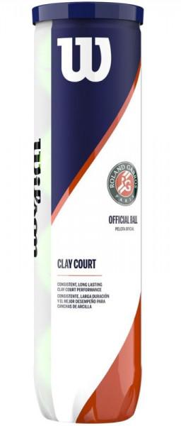 Piłki tenisowe Wilson Roland Garros Clay - 4 szt.