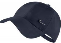 Nike H86 Metal Swoosh Cap - obisidian/metallic silver