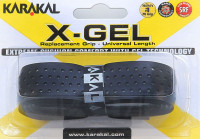Owijka do squasha Karakal X-Gel Grip (1 szt.) - black