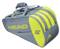 Torba do padla Head Core Padel Combi - grey/neon yellow