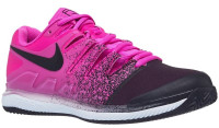 Damskie buty tenisowe Nike WMNS Air Zoom Vapor X Clay - laser fuchsia/black/white