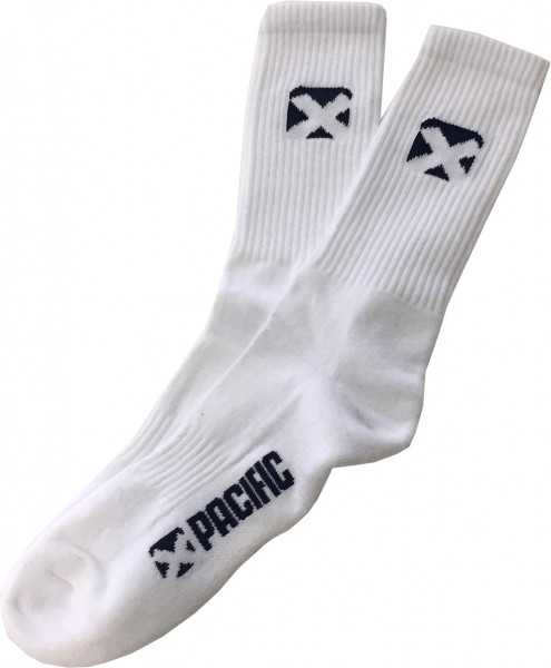 Tenisa zeķes Pacific Sport Socks Men Crew - 1 para/white