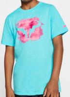 Koszulka chłopięca Nike Court Rafa DB Tee - polarized blue