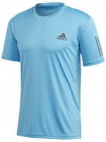 Męski T-Shirt Adidas Club 3 Stripe Tee - fresh splash/grey six