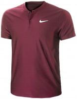 Męskie polo tenisowe Nike Court Dri-Fit Advantage Polo M - cinnabar/cinnabar/white