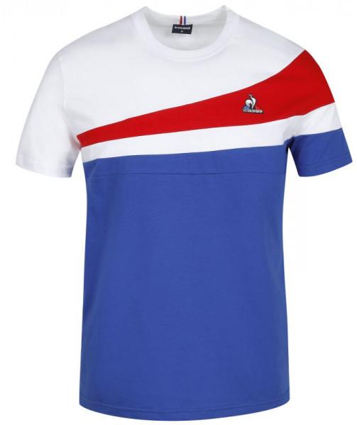 Teniso marškinėliai vyrams Le Coq Sportif TRI Tee SS No.1 M - cobalt