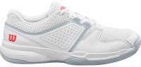 Damskie buty tenisowe Wilson Court Zone W - white/pearl blue/cayenne