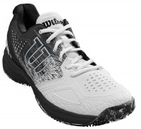 Męskie buty tenisowe Wilson Kaos Comp 2.0 Clay Court - white/black/pearl blue