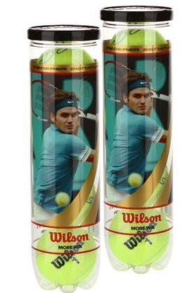 Wilson Federer Ltd - 4 szt. x 2 puszki