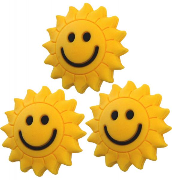 Tenisa vibrastopi Pro's Pro Vibra Stop Sunflower (3 szt.) - yellow