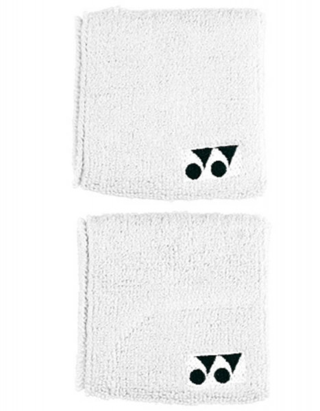 "Tennise randmepael Yonex Wristbands 3"" - white"
