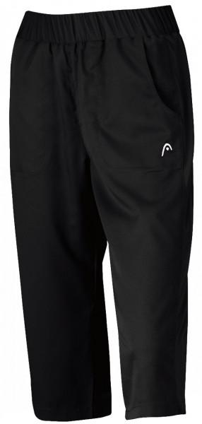 Damskie spodnie tenisowe Head Club Women Capri - black