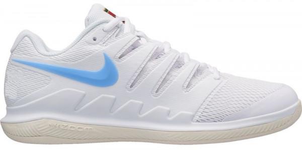 new concept 19f44 a2f81 Męskie buty tenisowe Nike Air Zoom Vapor X Carpet - white/university blue