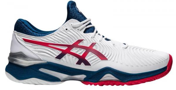 Męskie buty tenisowe Asics Court FF 2 - white/mako blue
