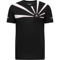 Męski T-Shirt Le Coq Sportif TENNIS Tee SS 20 No.2 M - black