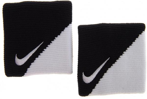 Nike Dri-Fit Wristbands 2.0 - black/white/white