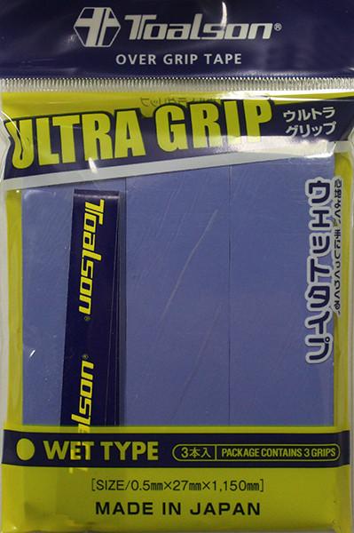 Owijki tenisowe Toalson UltraGrip (3 szt.) - blue