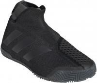 Damskie buty tenisowe Adidas Stycon Laceless W Clay - core black/night metallic/grey six