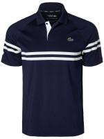 Męskie polo tenisowe Lacoste Novak Spring Polo M - navy blue/white
