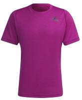 Męski T-Shirt Adidas Tennis Freelift T-Shirt M - sonic fuchsia/black