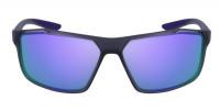 Tenniseprillid Nike Windstorm M - matte gridiron/psychic purple grey/violet mirror