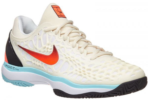 0fa990d6815 Men's shoes Nike Air Zoom Cage 3 - light cream/hyper crimson/black