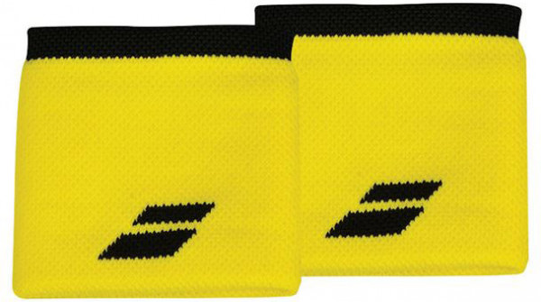Frotka tenisowa Babolat Logo Wristband - blazing yellow/black