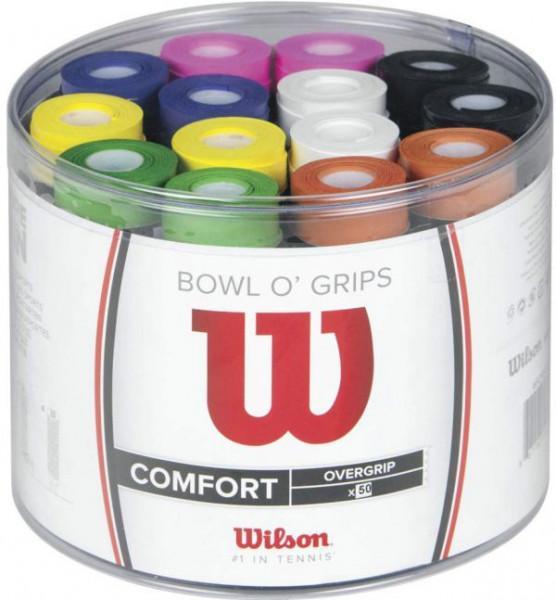 Viršutinės koto apvijos Wilson Bowl O'Grips 50P - color