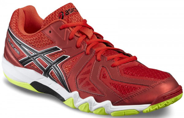 Asics Gel-Blade 5 - vermilion/black/safety yellow