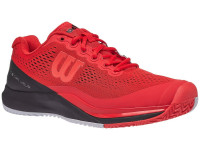 Męskie buty tenisowe Wilson Rush Pro 3.0 - infrared/black/pearl blue