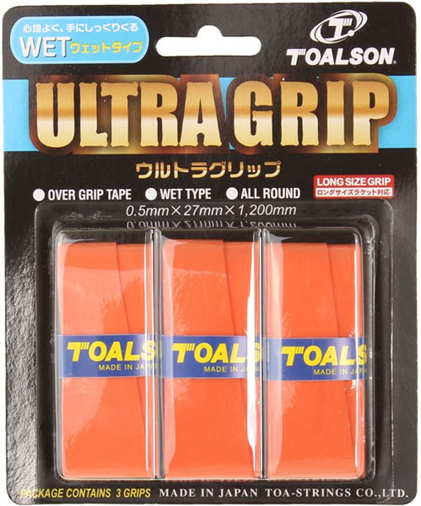 Toalson UltraGrip (3 szt.) - orange