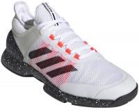 Męskie buty tenisowe Adidas Adizero Ubersonic 2 - cloud white/core black/signal pink