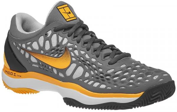 Nike Air Zoom Cage 3 Clay - cool grey/laser orange/black/white