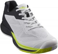 Męskie buty tenisowe Wilson Rush Pro 3.5 - wht/black/lime pop
