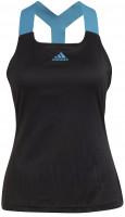 Ženska majica bez rukava Adidas Tennis Y-Tank Primeblue Aeroknit W - black