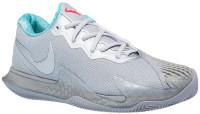 Męskie buty tenisowe Nike Air Zoom Vapor Cage 4 Clay - metallic silver