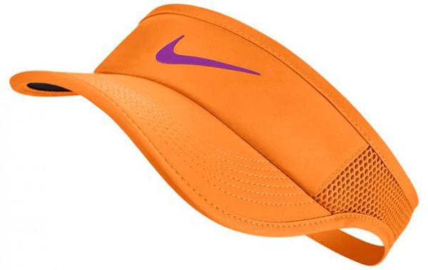 Nike Aerobill Feather Light Visor - tart/black/vivid purple