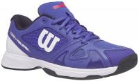 Juniorskie buty tenisowe Wilson Rush Pro 2.5 Junior - dazzling blue/white/neon red