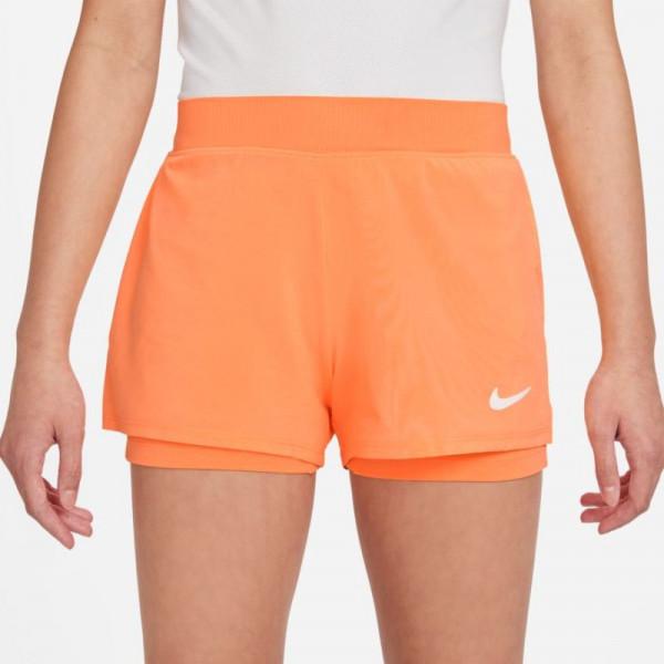 Tüdrukute šortsid Nike Court Dri-Fit Victory Short G - peach cream/white