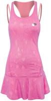 Damska sukienka tenisowa Lotto Twice II Dress - violet/rose