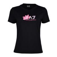 Tenisa T-krekls sievietēm EA7 Women Jersey T-Shirt - black