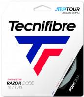 Naciąg tenisowy Tecnifibre Razor Code (12 m) New Box - carbon