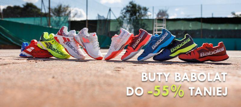 Babolat - buty tenisowe do 60% taniej