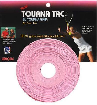 Owijki tenisowe Tourna Tac (30 szt.) - pink