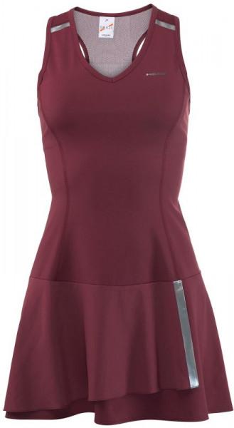 cdc00c21f622d5 Sukienka Tenisowa Head Performance Dress W - burgundy/silver | Sklep ...