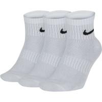 Teniso kojinės Nike Everyday Lightweight Ankle - 3 poros/white/black