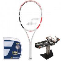 Rakieta tenisowa Babolat Pure Strike 100 3gen. + naciąg + usługa serwisowa
