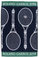 Ręcznik tenisowy Roland Garros Carreblanc Joueur Marine - turniejowy