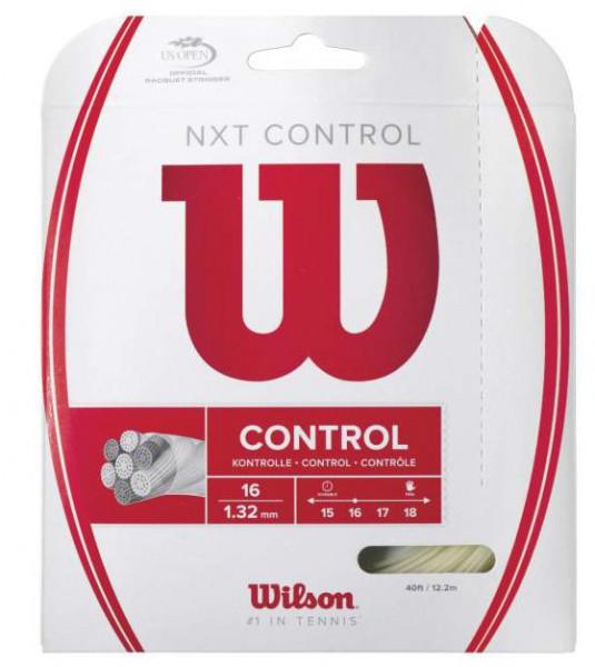Tenisa stīgas Naciąg Tenisowy Wilson NXT Control (12,2 m) # 1.32 mm