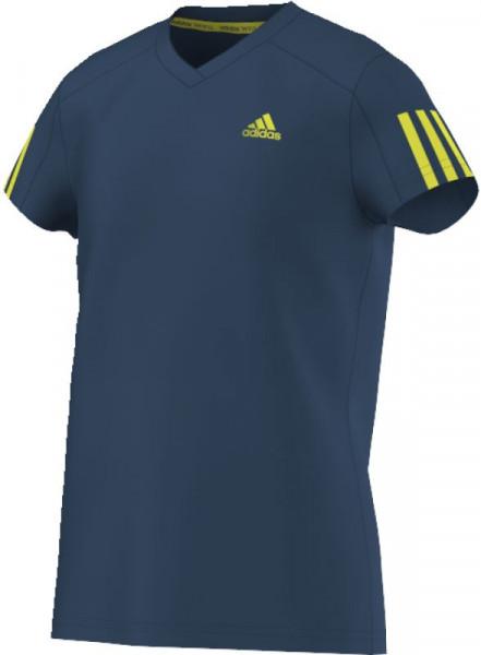 T-shirt Adidas Club Tee - tech steel/shock slime